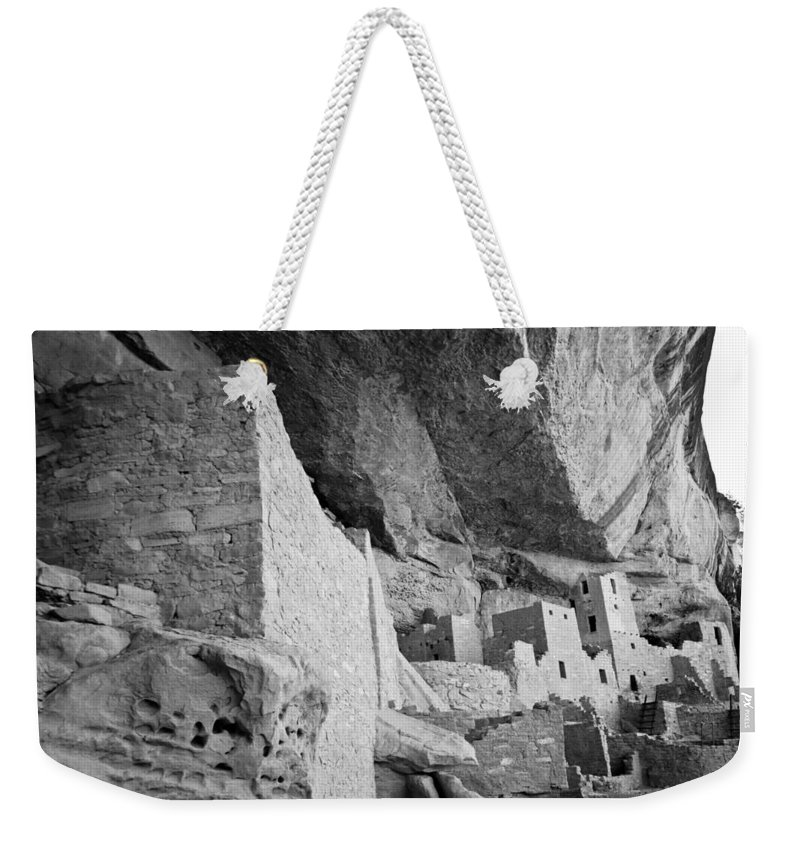 Mesa Verde National Park Weekender Tote Bag featuring the photograph Inside Cliff Palace #2 by Robert J Caputo