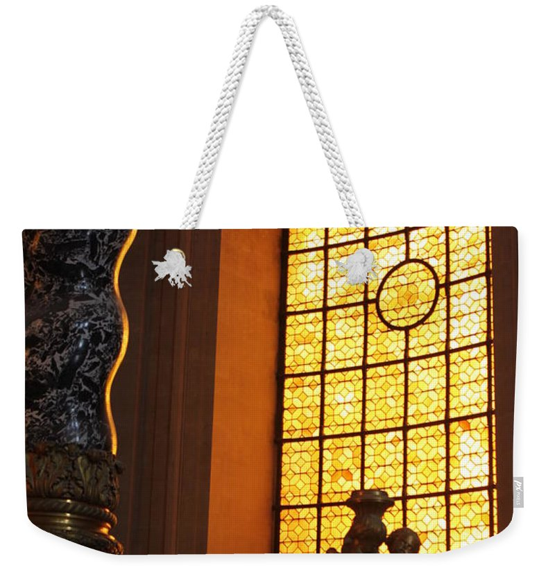 Les_invalides Weekender Tote Bag featuring the photograph Inside Les Invalides by Mauverneen Blevins