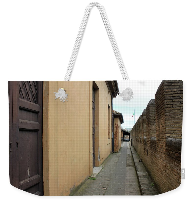 Castle Weekender Tote Bag featuring the photograph Inside The Castle by Munir Alawi