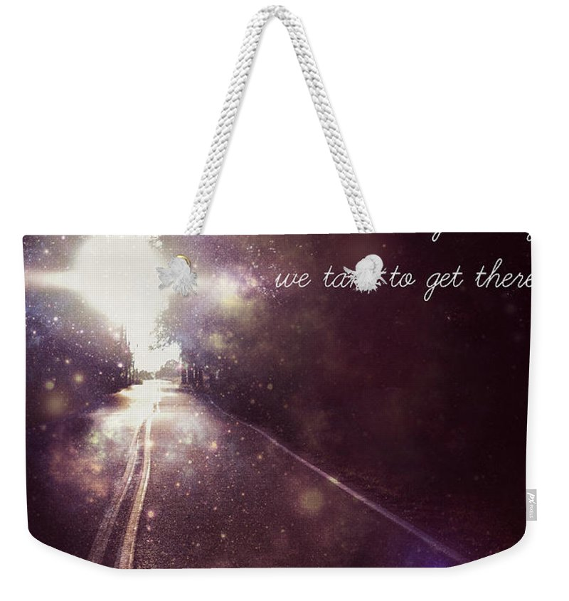 Inspire Weekender Tote Bag featuring the photograph Inspiration 3 by Alicia Zimmerman