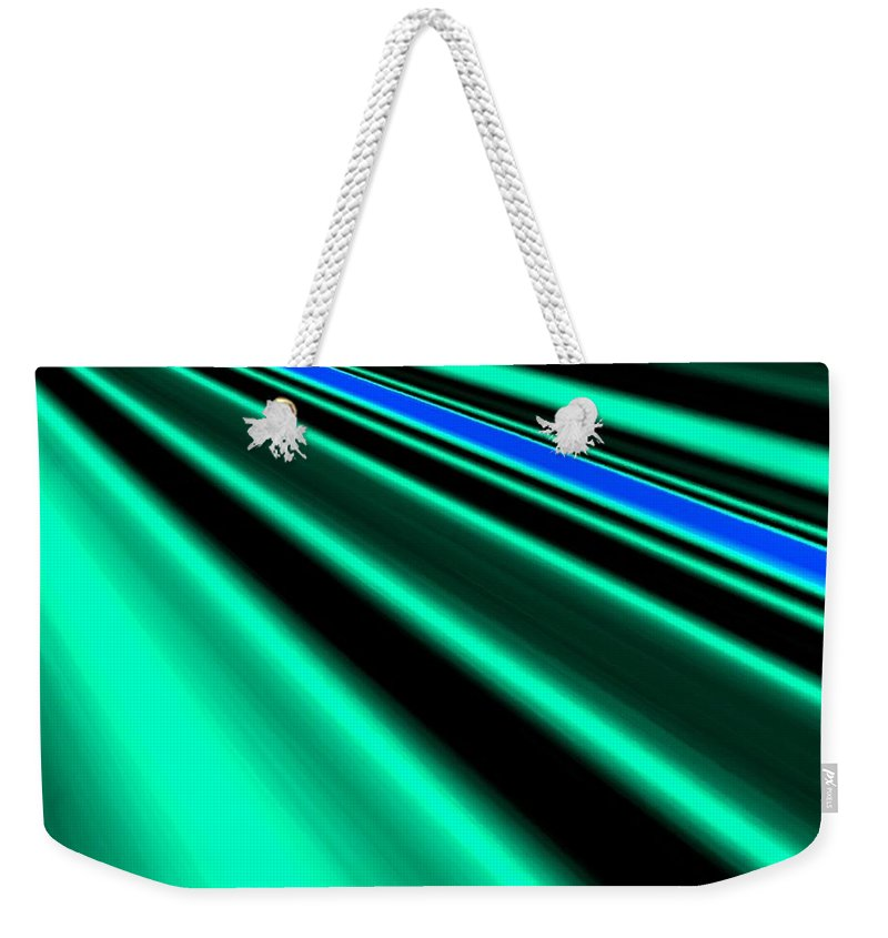 Abstract Weekender Tote Bag featuring the digital art Inspiration by Will Borden