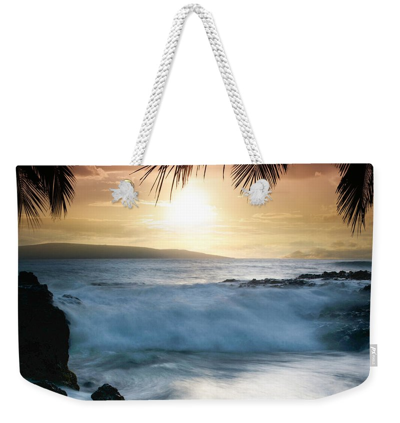 Beach Weekender Tote Bag featuring the photograph Integrations by Sharon Mau