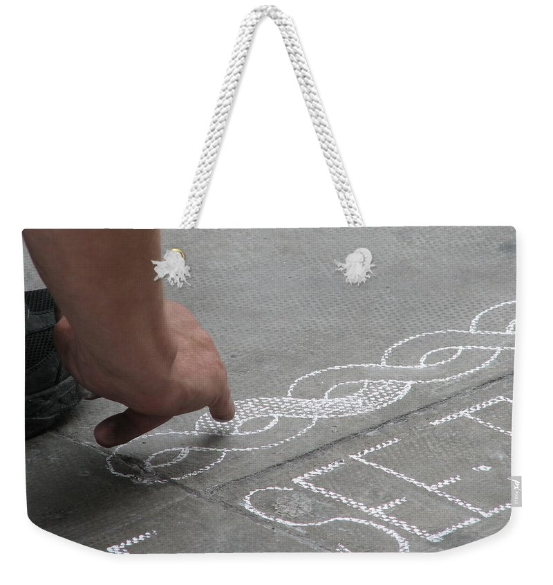 Dublin Weekender Tote Bag featuring the photograph Integrity by Kelly Mezzapelle