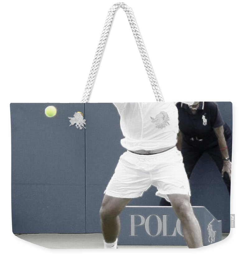 Taylor Dent Weekender Tote Bag featuring the photograph Intensity - Taylor Dent by Steven Sparks
