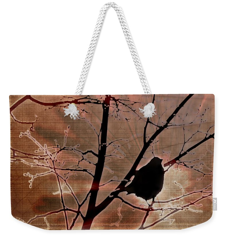 Tree Weekender Tote Bag featuring the photograph Interconnection by Lauren Radke