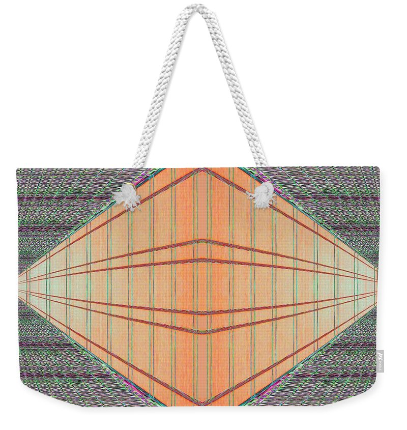 Architecture Weekender Tote Bag featuring the photograph Intersect by Tim Allen