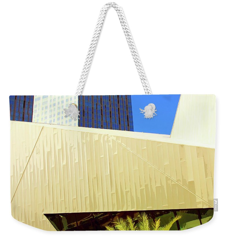 Vegas Weekender Tote Bag featuring the photograph Intersection 2 by William Dey