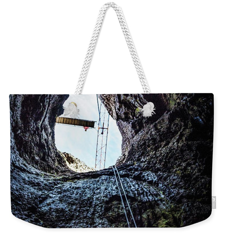 Kremsdorf Weekender Tote Bag featuring the photograph Into The Deep Unknown by Evelina Kremsdorf