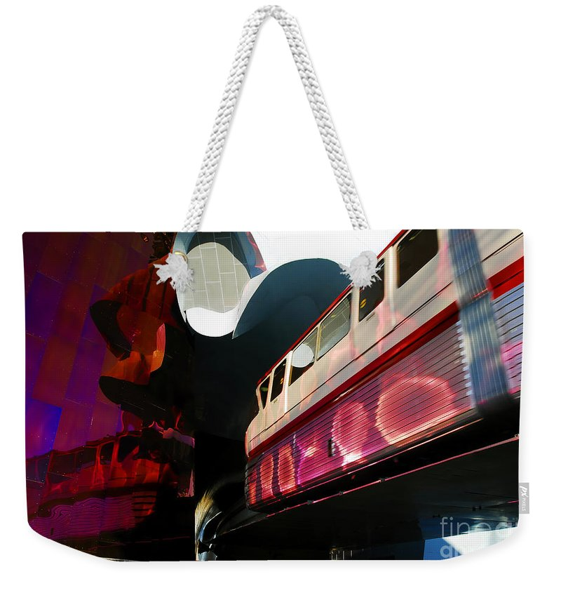 Future Weekender Tote Bag featuring the photograph Into The Future by David Lee Thompson