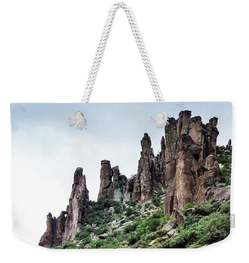 Evgeniya Lystsova Weekender Tote Bag featuring the photograph Into The Past by Evgeniya Lystsova