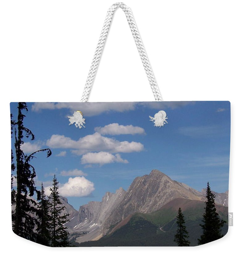 Spectacular View Weekender Tote Bag featuring the photograph Into The Valley by Greg Hammond