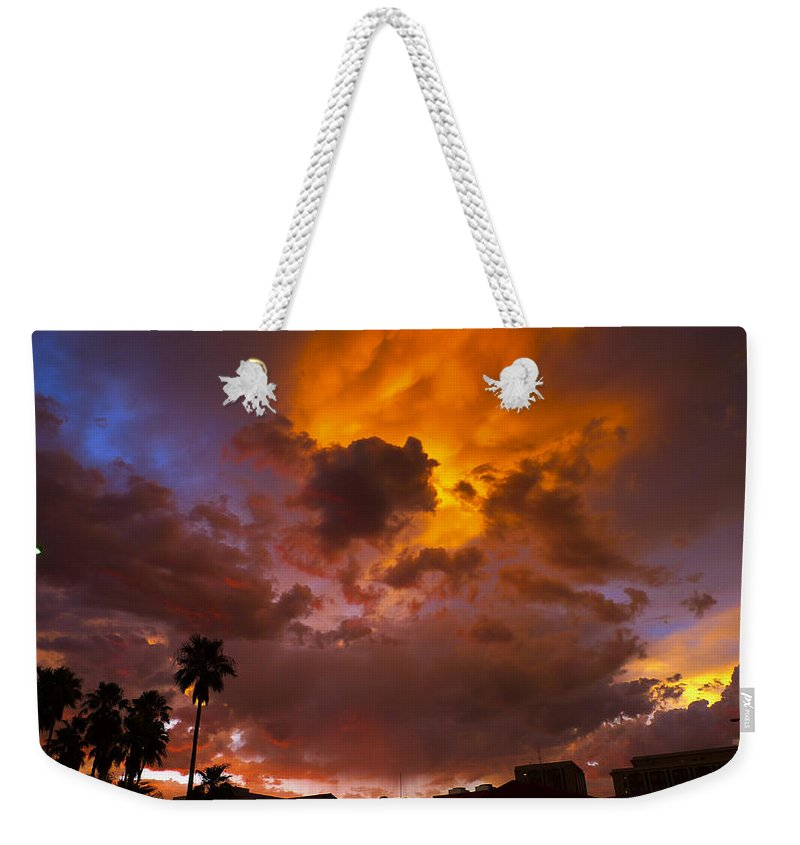 Intuition Weekender Tote Bag featuring the photograph Intuition by Skip Hunt