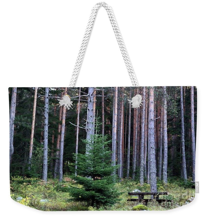 Invitation Weekender Tote Bag featuring the photograph Invitation by Violeta Ianeva