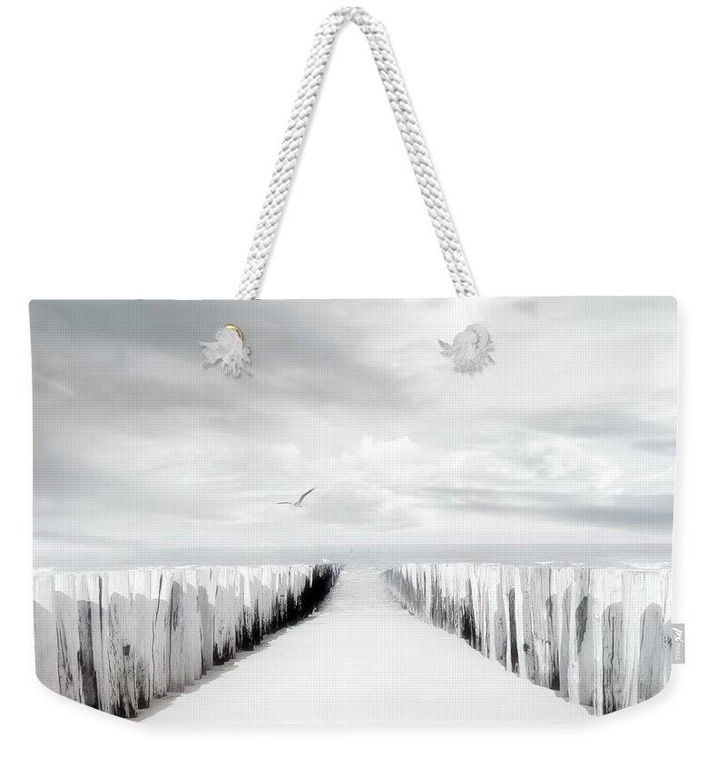 Beach Weekender Tote Bag featuring the photograph Inviting by Jacky Gerritsen