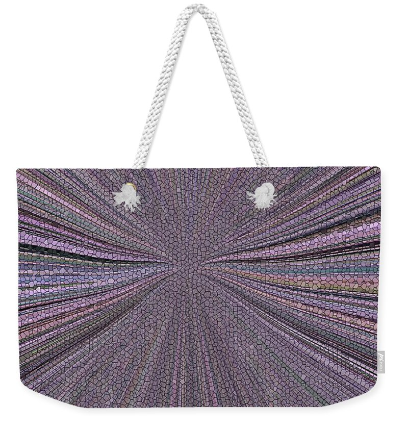Inward Weekender Tote Bag featuring the photograph Inward by Tim Allen