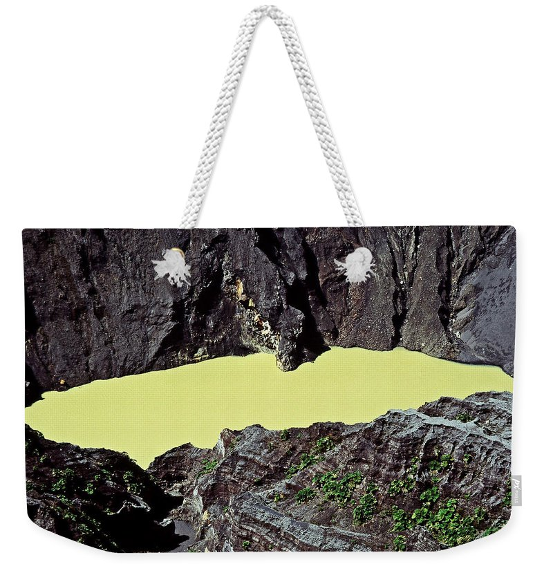 Central America Weekender Tote Bag featuring the photograph Irazu Volcano - Costa Rica by Juergen Weiss