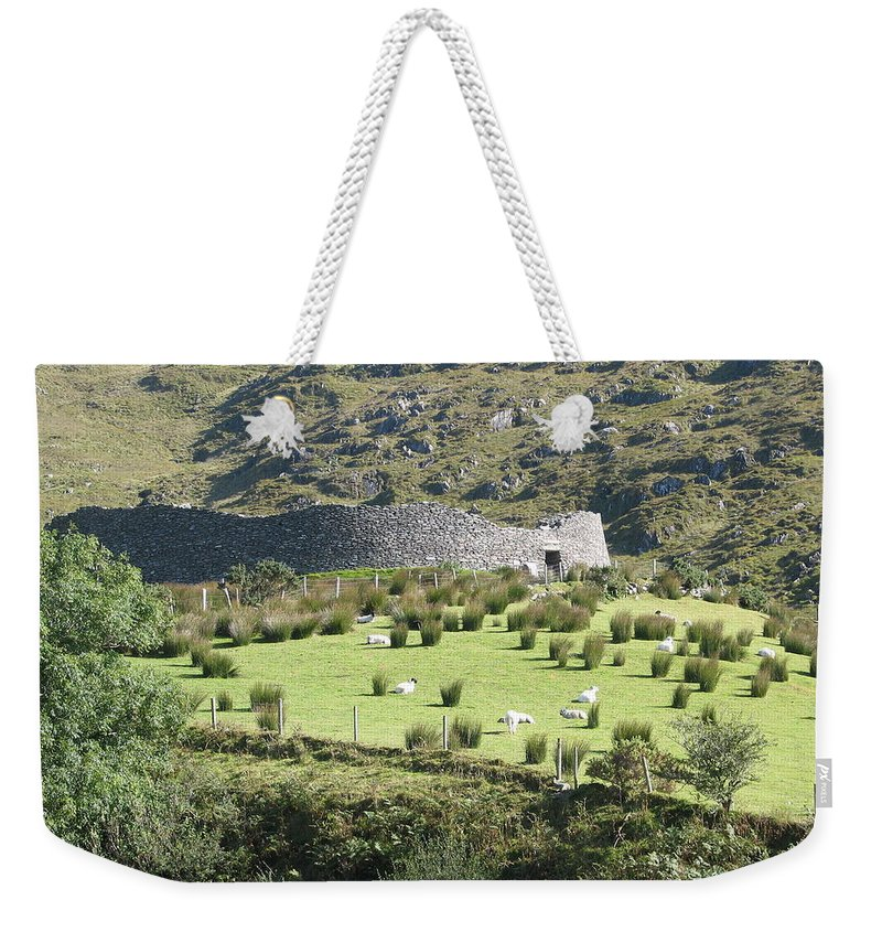 Ireland Weekender Tote Bag featuring the photograph Ireland by Kelly Mezzapelle