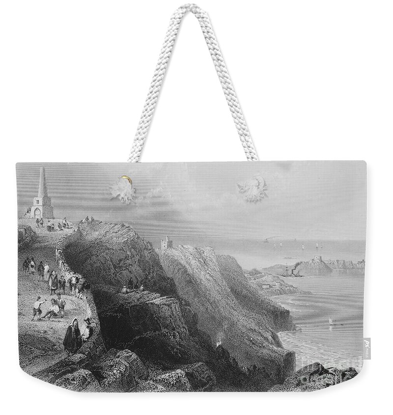 1840s Weekender Tote Bag featuring the photograph Ireland: Killiney Hill by Granger