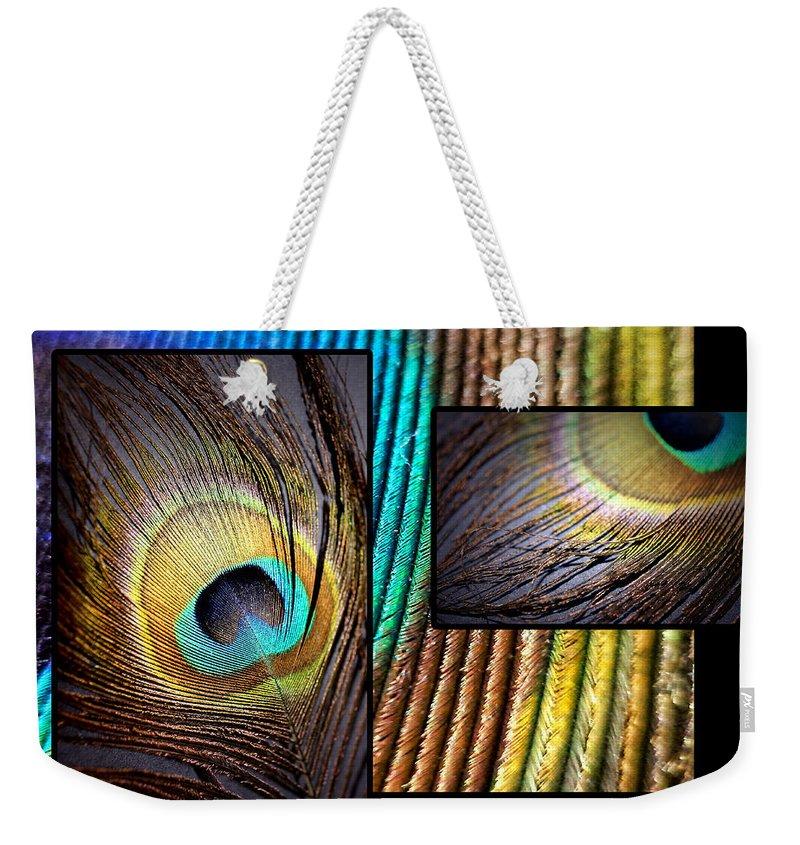 Lauren Radke Weekender Tote Bag featuring the photograph Iridescent Beauty by Lauren Radke