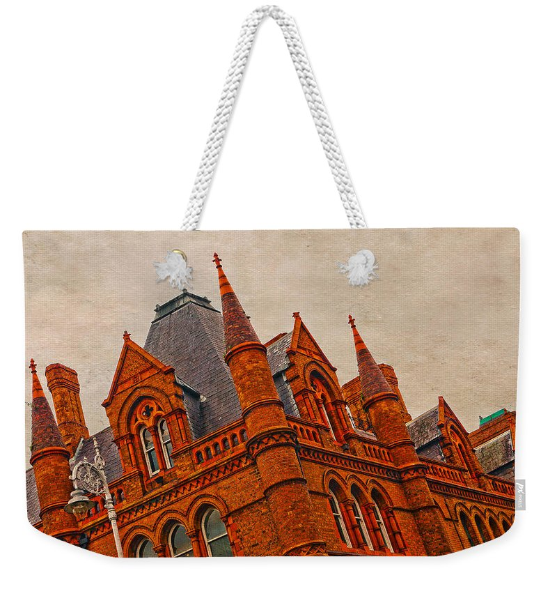 Irish Heritage Weekender Tote Bag featuring the photograph Irish Heritage 3 by Alex Art and Photo