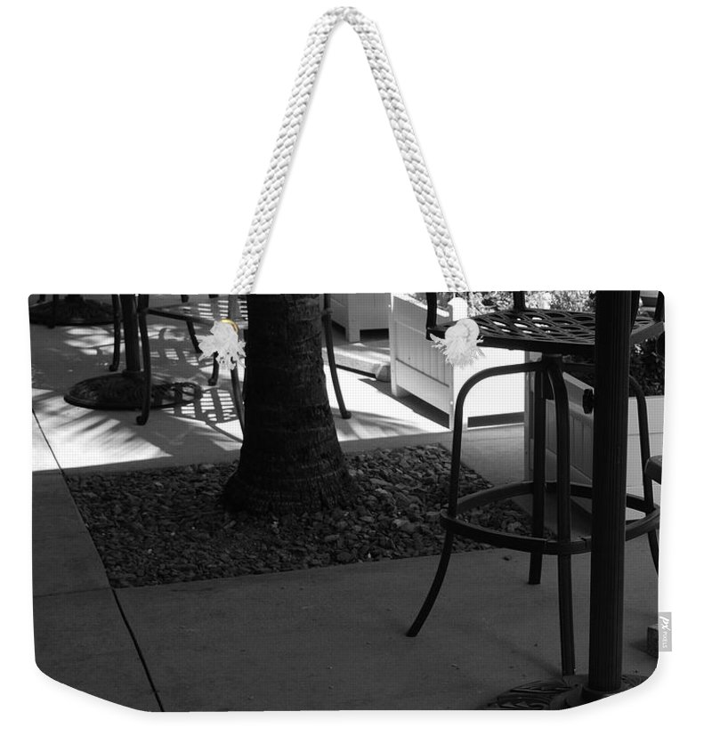 Black And White Weekender Tote Bag featuring the photograph Irish Unbrella by Rob Hans