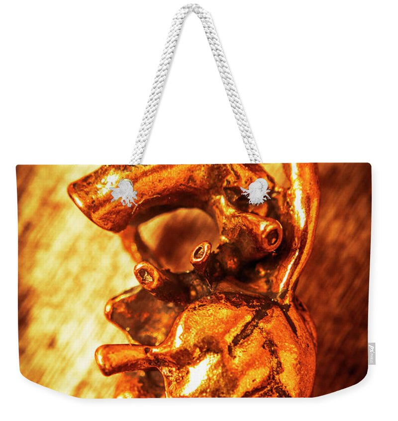Heart Weekender Tote Bag featuring the photograph Iron Arteries by Jorgo Photography - Wall Art Gallery