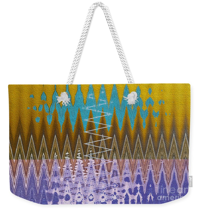 Noise Weekender Tote Bag featuring the photograph Is The Noise In My Head Bothering You? by Nina Silver