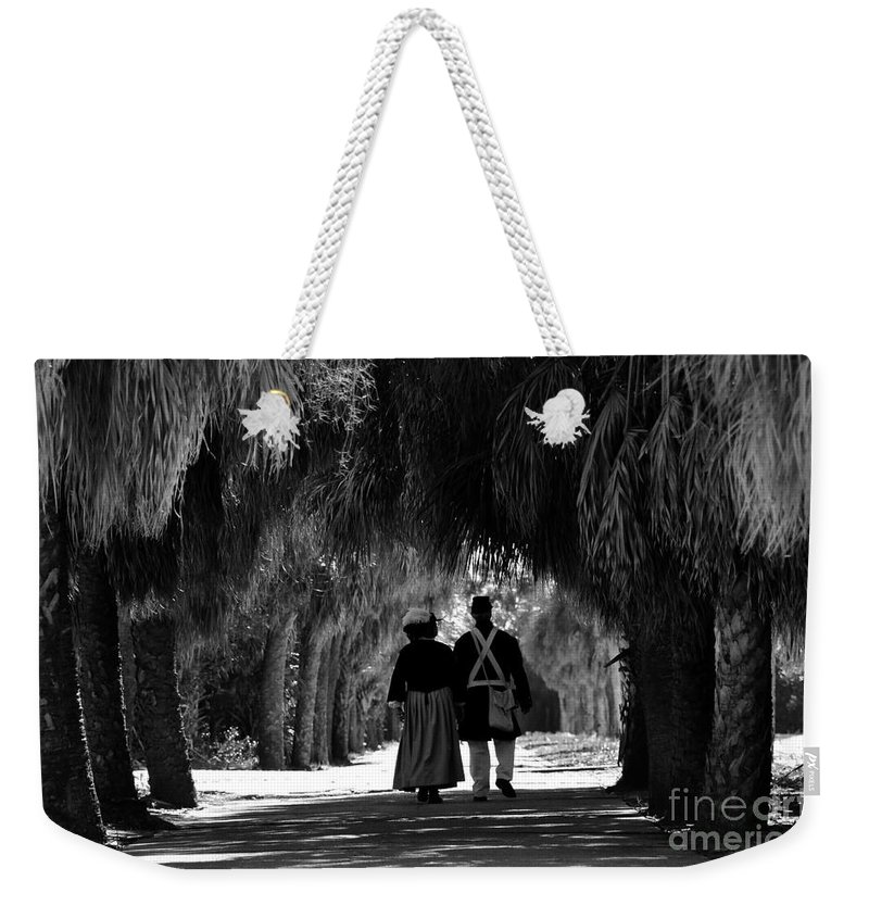 Historic Weekender Tote Bag featuring the photograph Island History by David Lee Thompson
