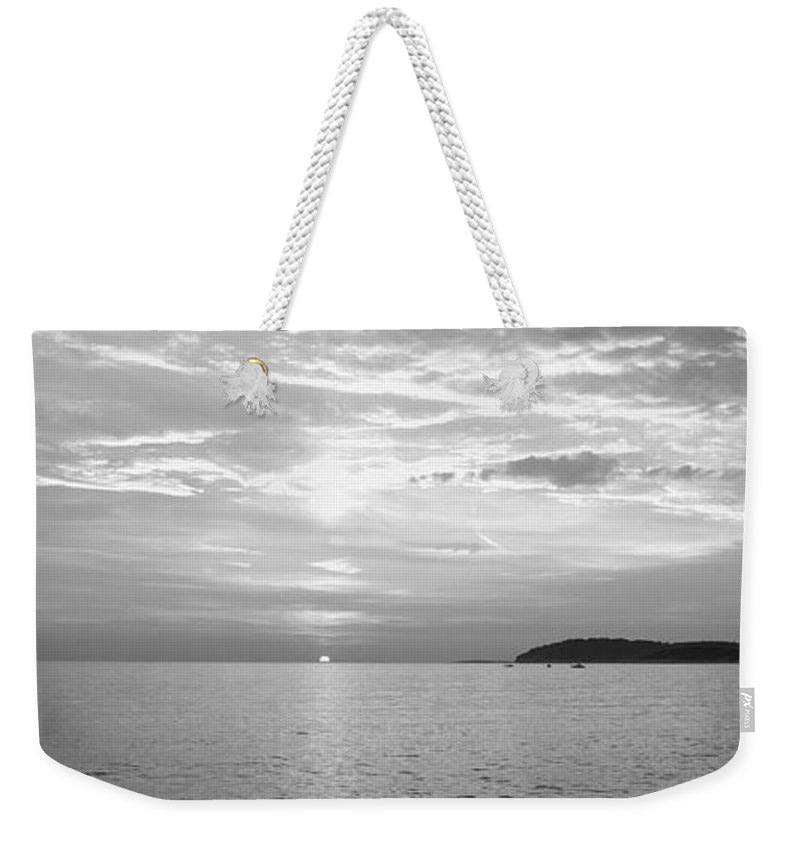 Sea Weekender Tote Bag featuring the photograph Istrian Peninsula by Ian Middleton
