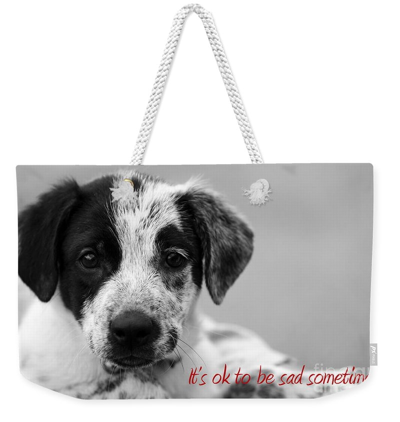 posters For Kids Weekender Tote Bag featuring the photograph It by Amanda Barcon