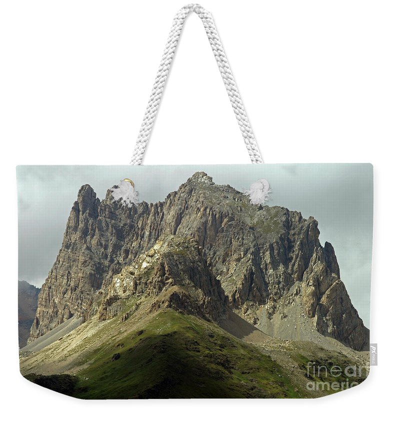 Italy Weekender Tote Bag featuring the photograph Italian Alps by Amos Dor