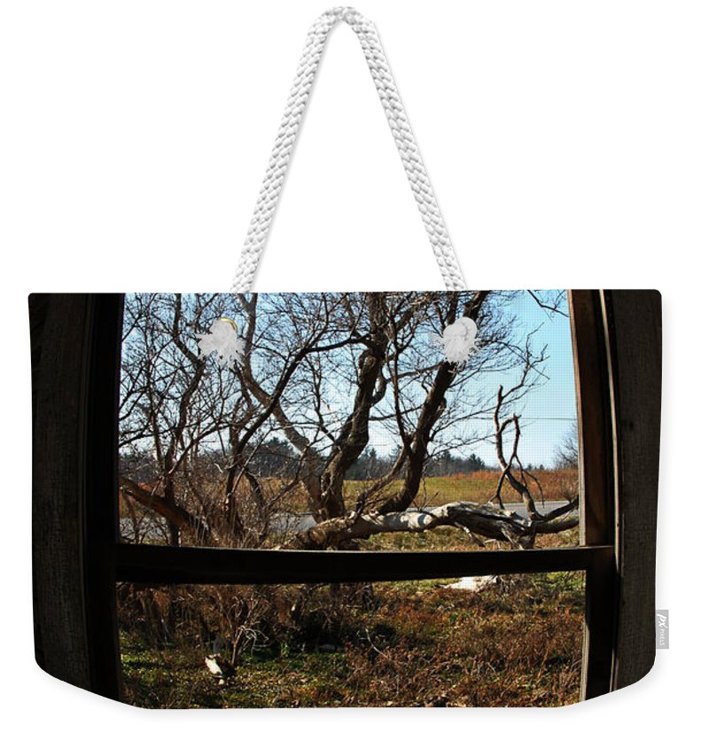 Perspective Weekender Tote Bag featuring the photograph It's All A Matter Of Perspective by Amanda Barcon