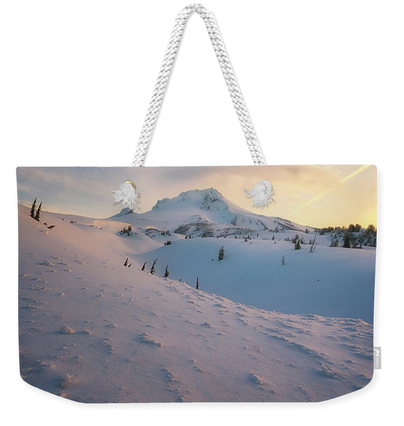 Spring Weekender Tote Bag featuring the photograph It's Not Spring Yet by Ryan Manuel