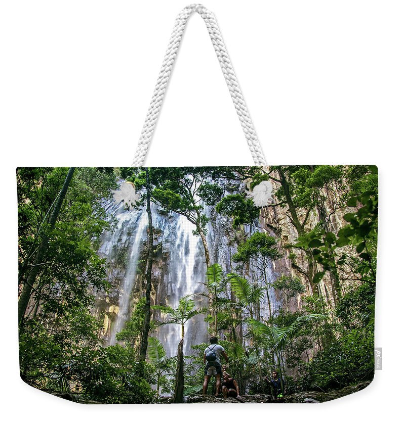 Nature Weekender Tote Bag featuring the photograph It's Worth It by Az Jackson