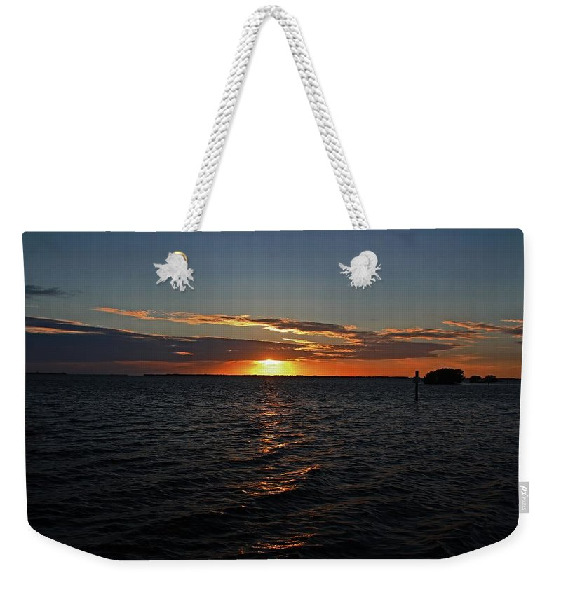 Pineland Weekender Tote Bag featuring the photograph I've Lost Everything To You by Michiale Schneider