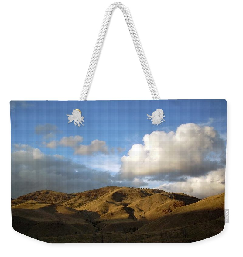 Sunset Weekender Tote Bag featuring the photograph J D Sunset 2 by Sara Stevenson