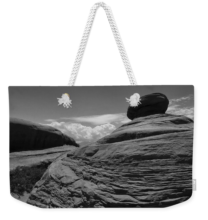Jabba Weekender Tote Bag featuring the photograph Jabba by Skip Hunt