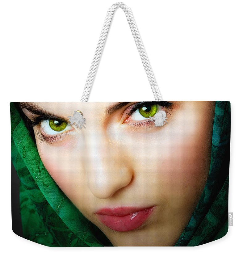 Weekender Tote Bag featuring the photograph Jade by Neil Shapiro