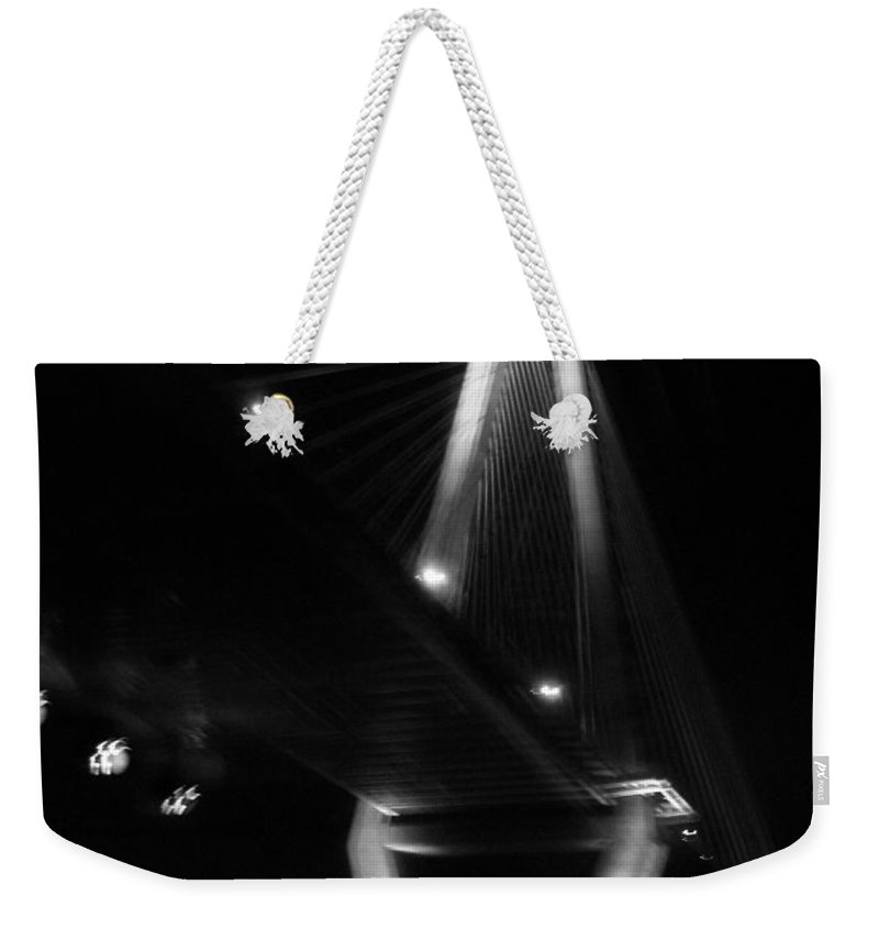 Bridges Weekender Tote Bag featuring the photograph Jammin Life by Amanda Barcon