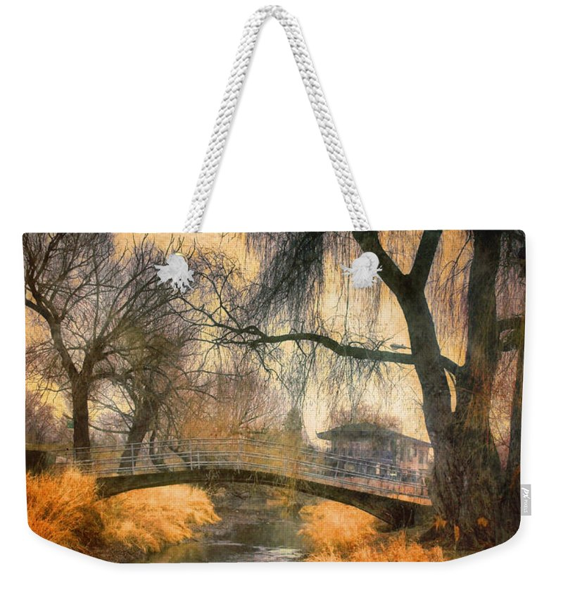 Bridge Weekender Tote Bag featuring the photograph January 13 2010 by Tara Turner