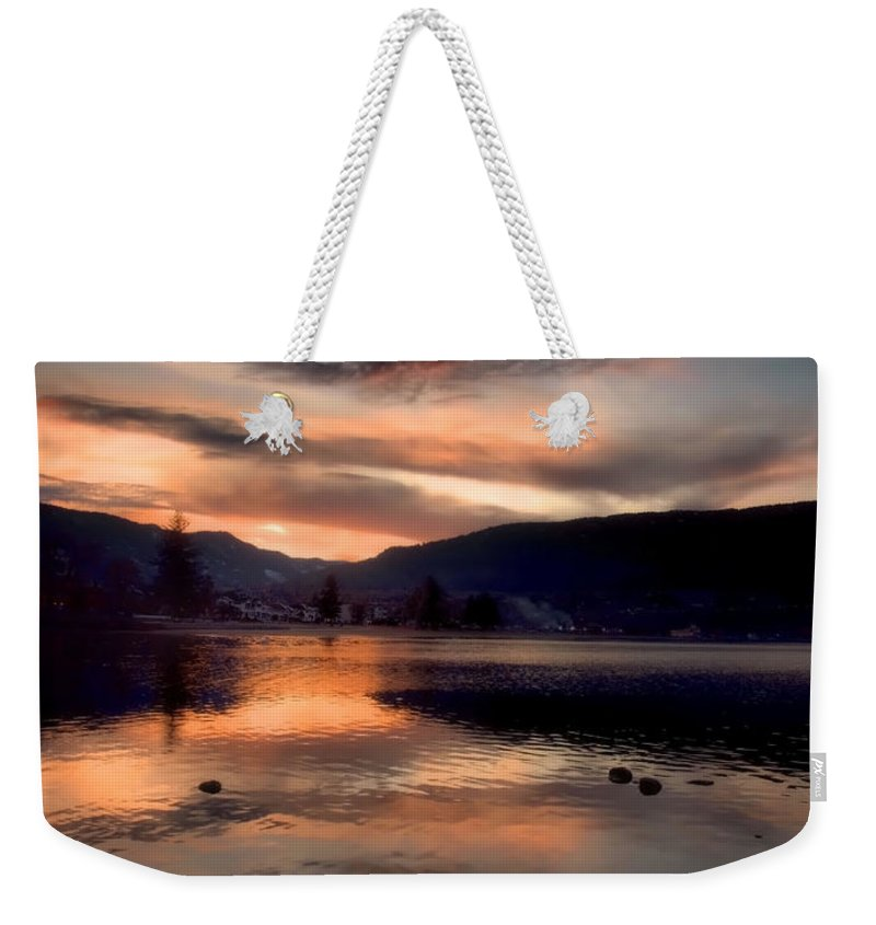 Clouds Weekender Tote Bag featuring the photograph January 16 2010 by Tara Turner