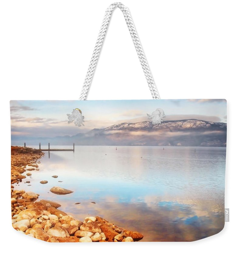 Lake Weekender Tote Bag featuring the photograph January 19 2010 by Tara Turner