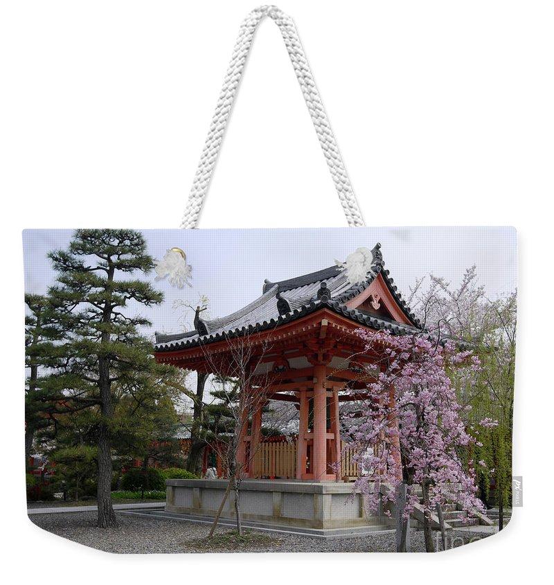 Japan Weekender Tote Bag featuring the photograph Japan Kiyomizu-dera Temple by Moshe Torgovitsky