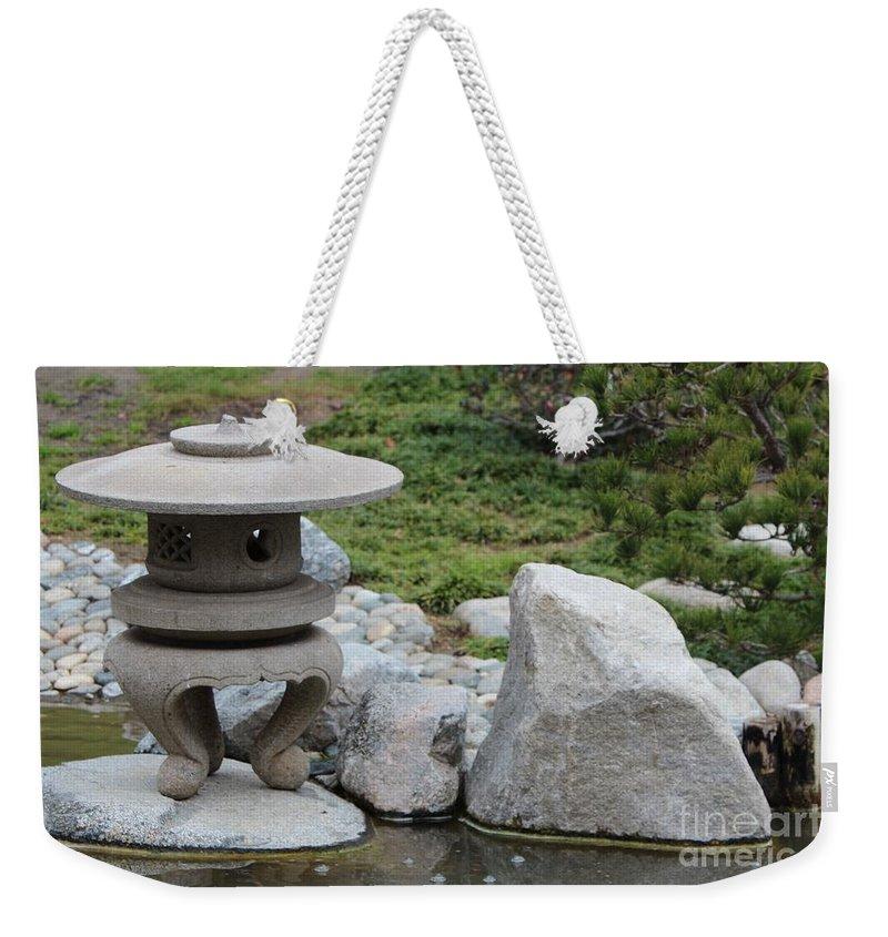 Japanese Friendship Garden Weekender Tote Bag featuring the photograph Japanese Friendship Garden 5 by Marta Robin Gaughen