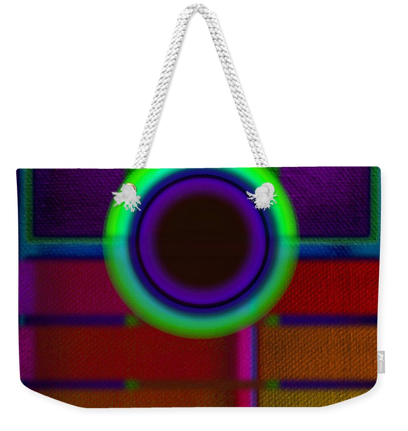Portal Weekender Tote Bag featuring the painting japanese Portal by Charles Stuart