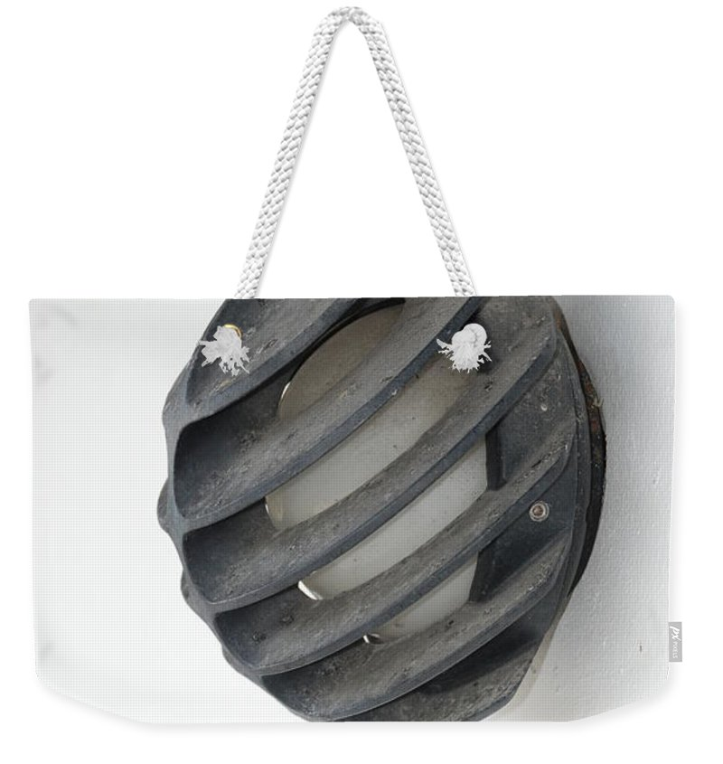 Japanese Weekender Tote Bag featuring the photograph Japanese Shell Lamp by Rob Hans