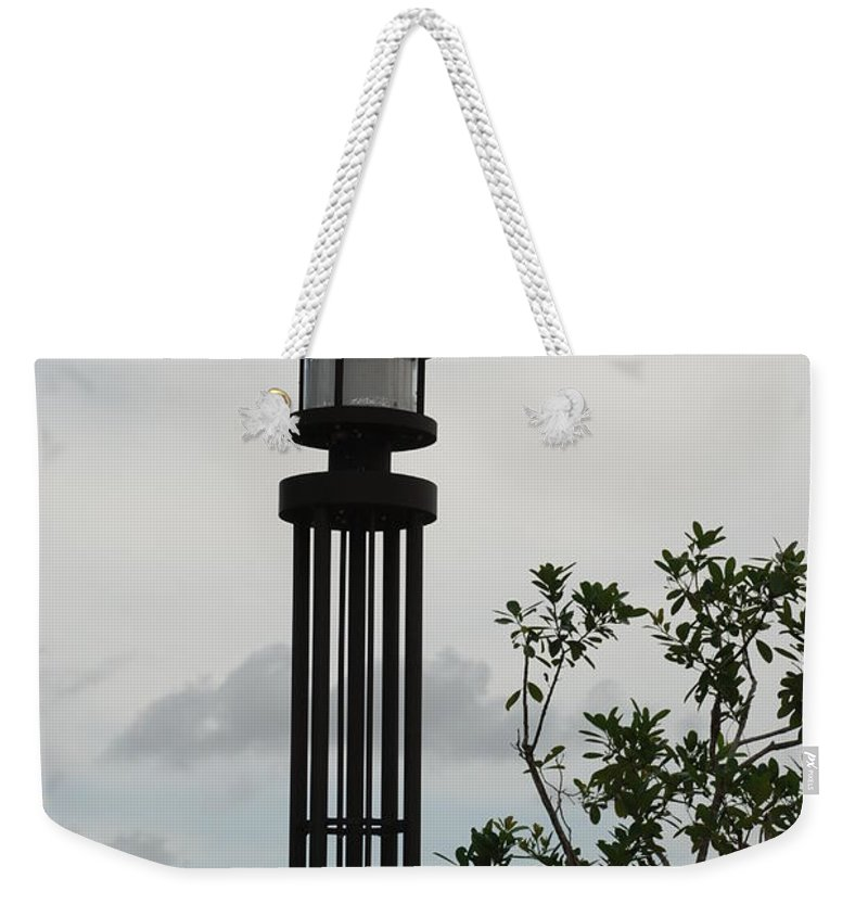 Street Lamp Weekender Tote Bag featuring the photograph Japanese Street Lamp by Rob Hans