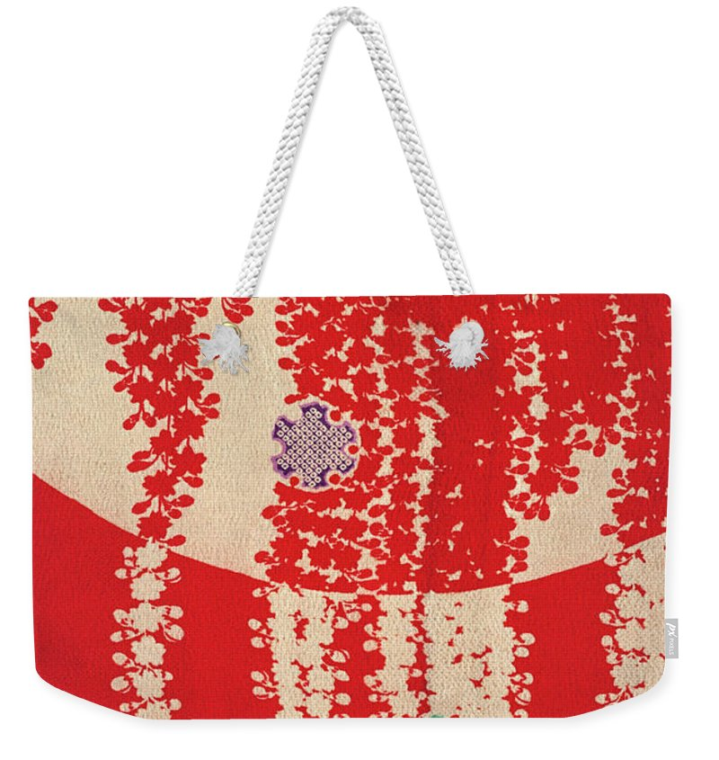 Japanese Wisteria Weekender Tote Bags