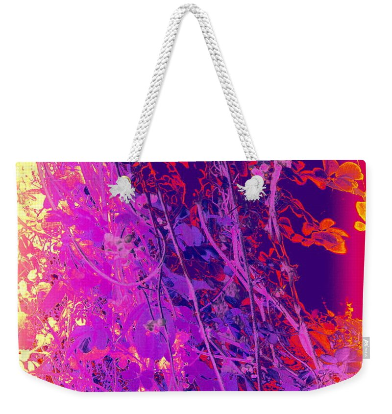 Photography Weekender Tote Bag featuring the photograph Japanese Twist by Nancy Kane Chapman