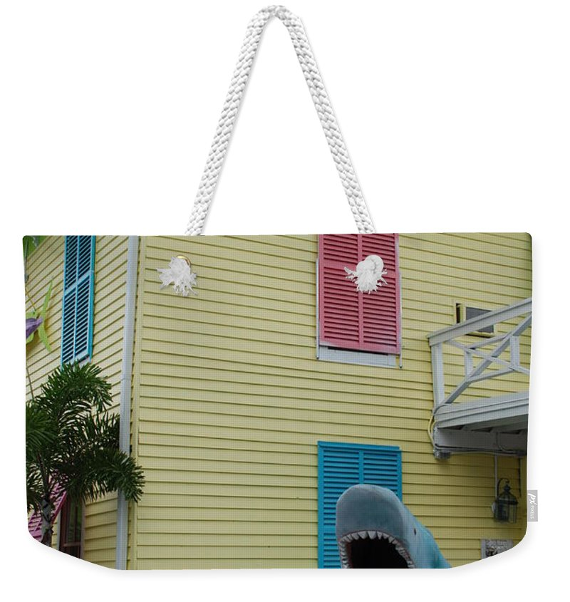 Jaws Weekender Tote Bag featuring the photograph Jaws by Rob Hans